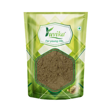 Yuvika Brahmi Booti Powder - Bacopa Monnieri Linn - Centella Asiatica Linn - Indian Pennywort