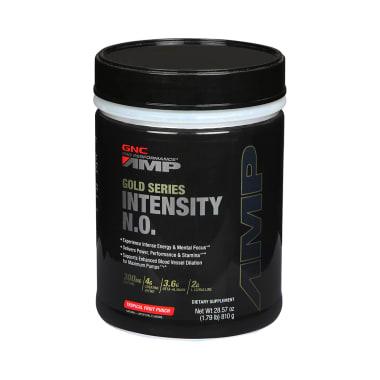 GNC AMP Gold Series Intensity N.O. Powder Tropical Fruit Punch