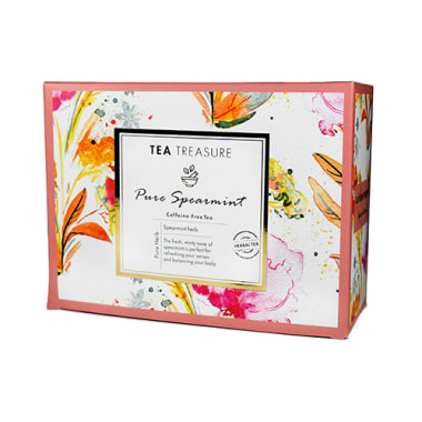 Tea Treasure  Caffeine Free Tea Pure Spearmint