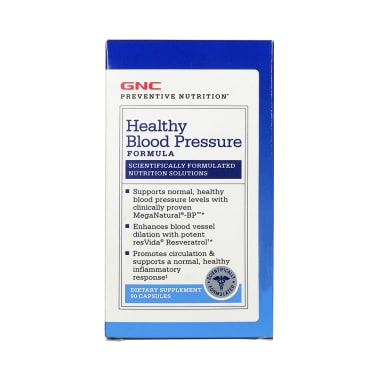 GNC Preventive Nutrition Healthy Blood Pressure Capsule