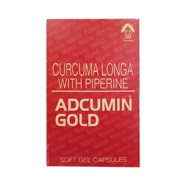 Adcumin Gold Soft Gelatin Capsule