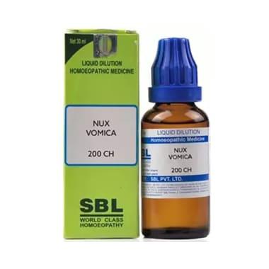 SBL Nux Vomica Dilution 200 CH