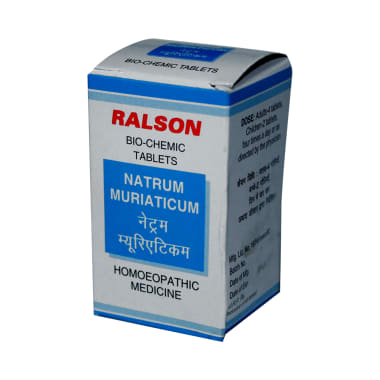 Ralson Remedies Natrum Muriaticum Biochemic Tablet 6X