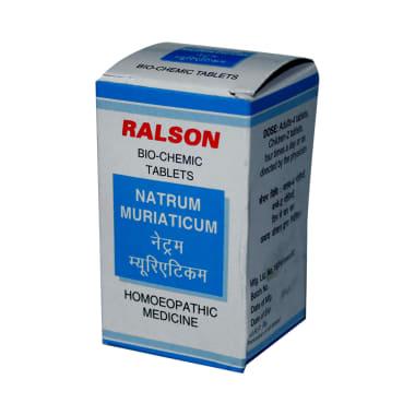 Ralson Remedies Natrum Muriaticum Biochemic Tablet 12X