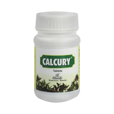 Charak Calcury Tablet