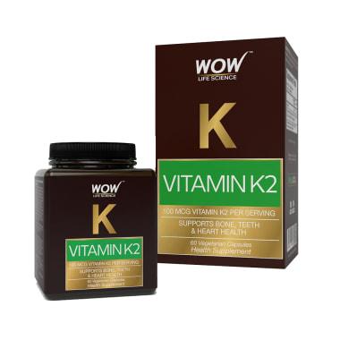 WOW Life Science Vitamin K2 Vegetarian Capsules