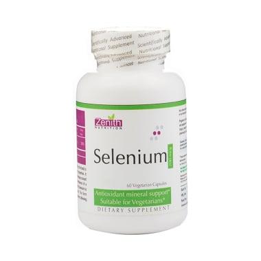 Zenith Nutrition Selenium  200mcg Capsule