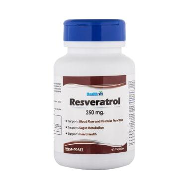 HealthVit Resveratrol 250mg Capsule