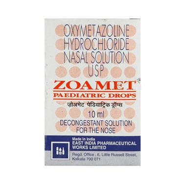 Zoamet Paed Nasal Drops