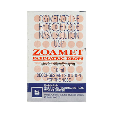 Zoamet Paediatric Nasal Drops