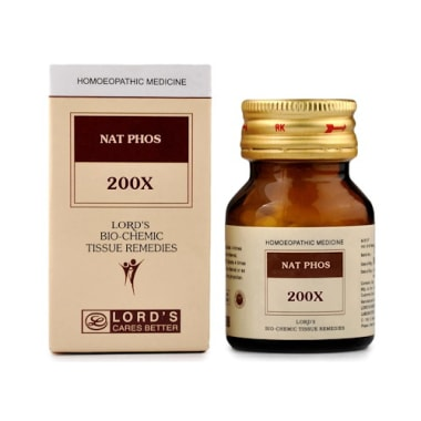 Lord's Nat Phos Biochemic Tablet 200X