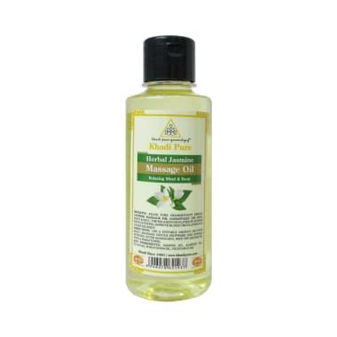 Khadi Pure Herbal Jasmine Massage Oil