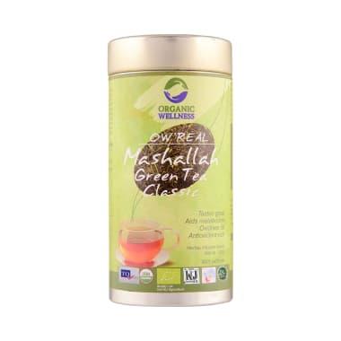 Organic Wellness OW' REAL Mashalla Green Tea Classic Infusion Blend