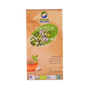 Organic Wellness OW' Real Tulsi Herbal Infusion Bags The Original