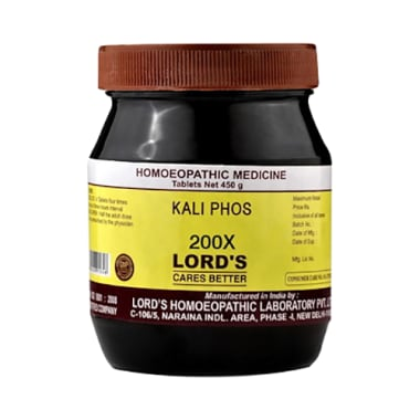 Lord's Kali Phos Biochemic Tablet 200X
