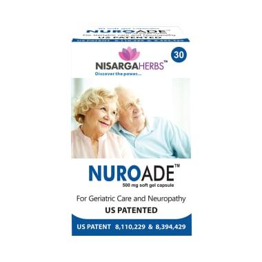 Nisarga Herbs Nuroade 500mg Soft Gel Capsule