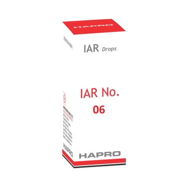 Hapro IAR Drop No. 06 (Gold Drops)