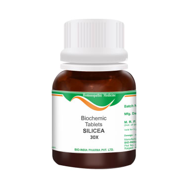Bio India Silicea Biochemic Tablet 30X