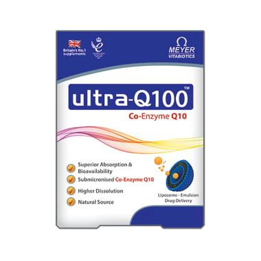 Ultra-Q 100mg Capsule
