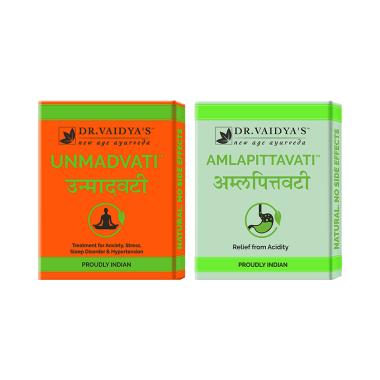 Dr. Vaidya's Combo Pack of Amlapittavati & Unmadvati