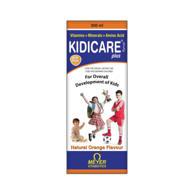 Kidicare Plus Orange Syrup