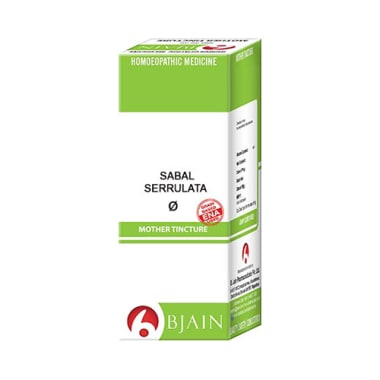 Bjain Sabal Serrulata Mother Tincture Q