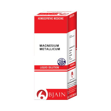 Bjain Magnesium Metallicum Dilution 1000 CH