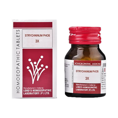 Lord's Strychninum Phos Trituration Tablet 3X