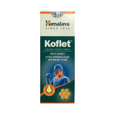 Himalaya Koflet Syrup with 2 Koflet Lozenges Free