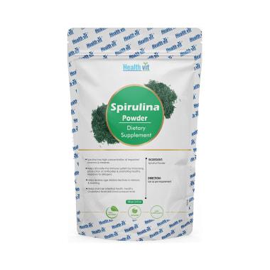 HealthVit Superfood Spirulina 500mg Powder