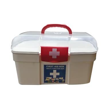 Isha Surgical Plastic First Aid Box S White