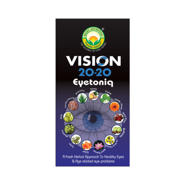 Basic Ayurveda Vision 20-20 Eyetoniq