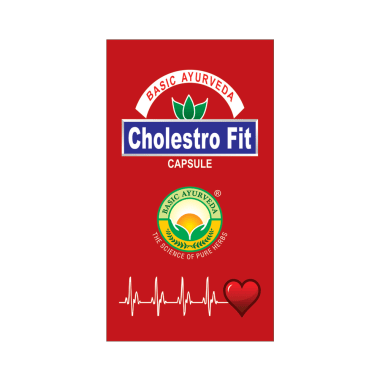Basic Ayurveda Cholestro Fit Capsule