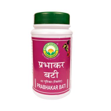 Basic Ayurveda Prabhakar Bati