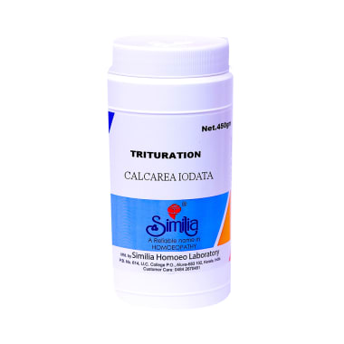 Similia Calcarea Iodata Trituration Tablet 6X