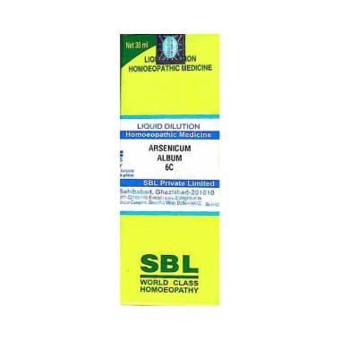 SBL Arsenicum Album Dilution 6 CH