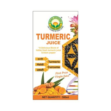 Basic Ayurveda Turmeric Juice