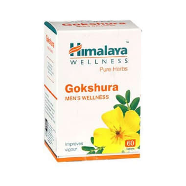 Himalaya Wellness Pure Herbs Gokshura Tablet