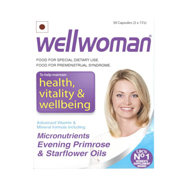 Wellwoman Health Supplement Capsule