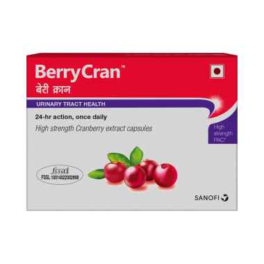 Berrycran High strength Cranberry Extract Soft Gelatin Capsule