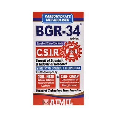 Bgr 34 Tablet