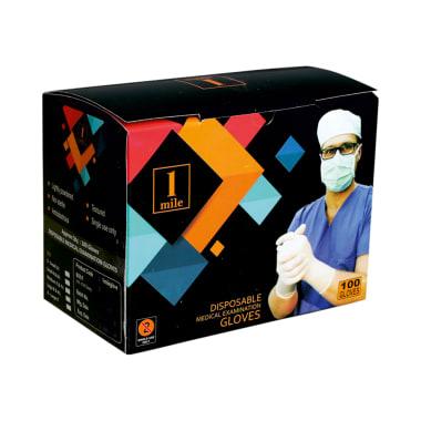 1Mile Disposable Medical Examination Glove Large