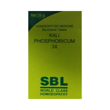 SBL Kali Phosphoricum Biochemic Tablet 3X
