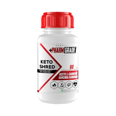 Pharmgrade Keto Shred Tablet