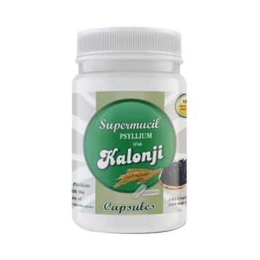 Supermucil Psyllium with Kalonji 500mg Capsule