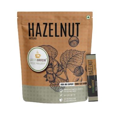 Green Brrew Hazelnut Instant Green Coffee (1.5gm Each)