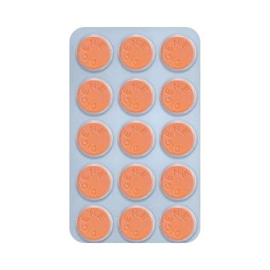 Digene Acidity & Gas Relief Tablet Orange