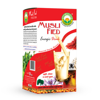 Basic Ayurveda Musli Fied Energy Drink