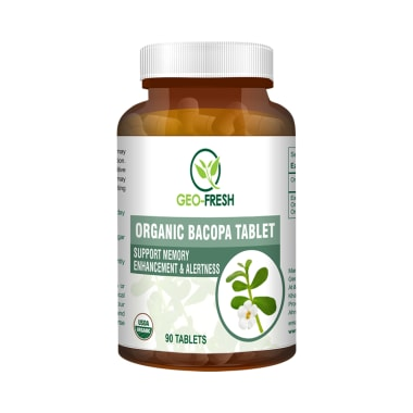 Geo Fresh Organic Bacopa 750mg Tablet