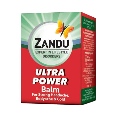 Zandu Balm Ultra Power